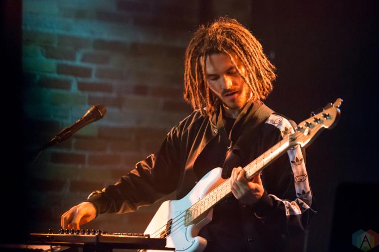 FKJ performs at Velvet Underground in Toronto on March 24, 2017